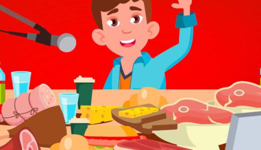 【ASMR】咀嚼音で再生数が伸びる人気の食べ物を厳選して20個選んでみた
